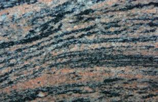 rainbow granite color sample